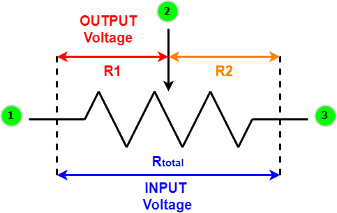 Usage of Variable Resistor as Voltage Divider