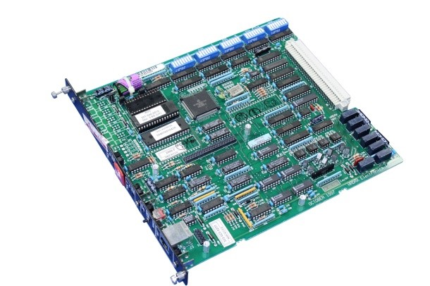 Printed Circuit Board with Components